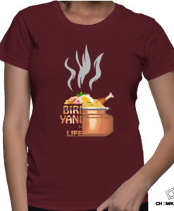Women T shirts product categories Product Categories Biriyani for Life F 247x300